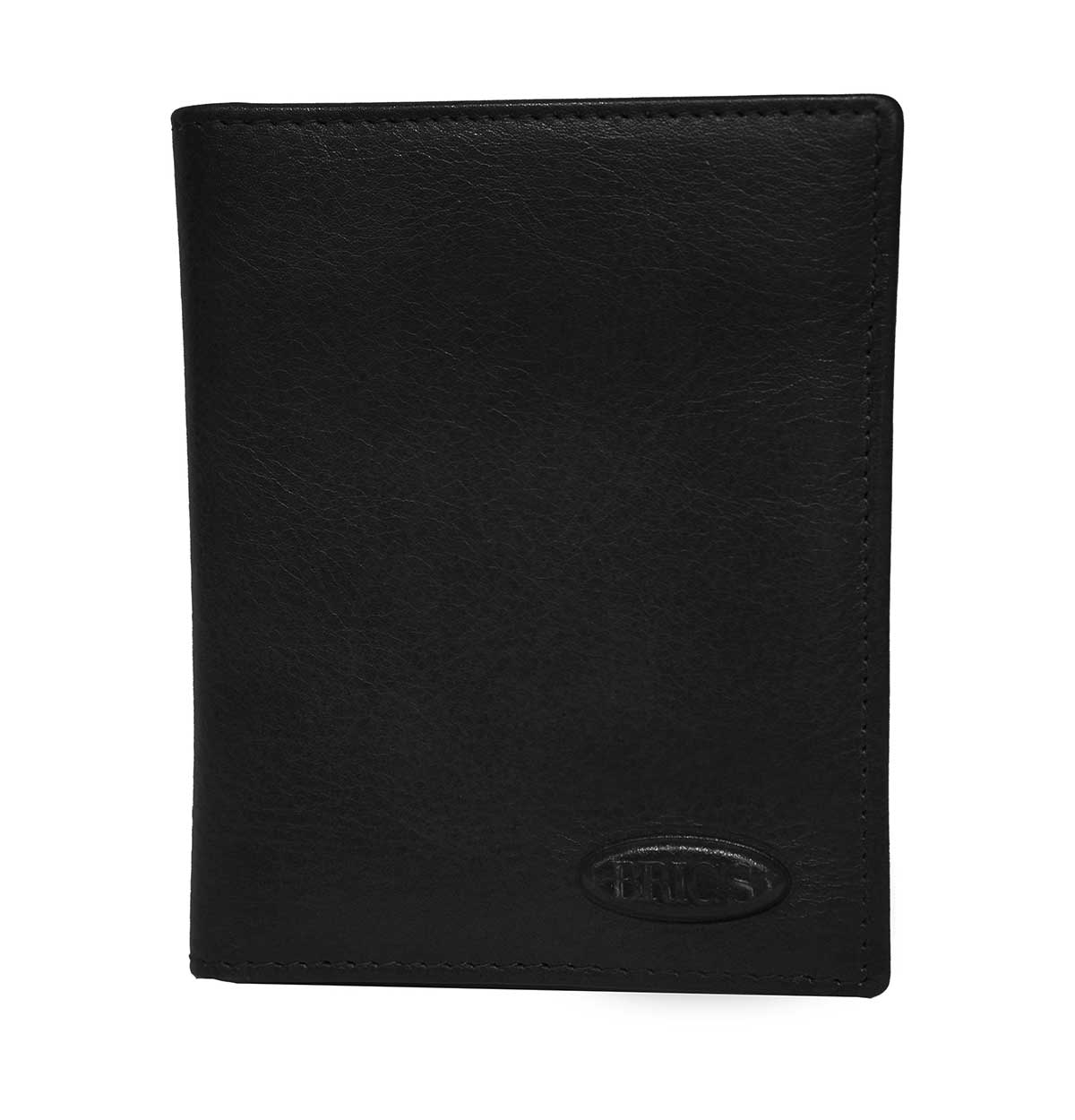Monte Rosa Slim Vertical Wallet With Id by Brics (Color: Black)