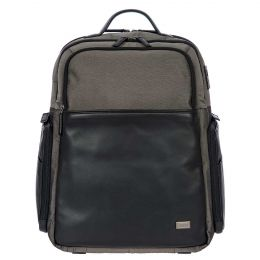 Monza Backpack Business L by Brics (Color: Grey/Black)