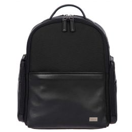 Monza Backpack Business M by Brics (Color: Black/Black)