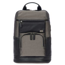 Monza Urban Bacpack by Brics (Color: Grey/Black)