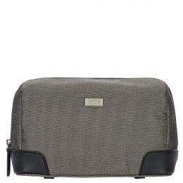 Monza Necessaire by Brics (Color: Grey/Black)