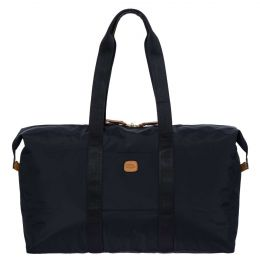"x-Bag 22"" Folding Duffle by Brics (Color: Navy)"