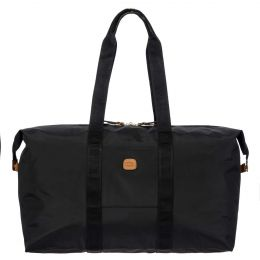 "x-Bag 22"" Folding Duffle by Brics (Color: Black)"