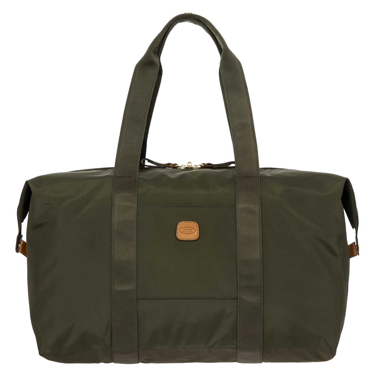"x-Bag 18"" Folding Duffle by Brics (Color: Olive)"