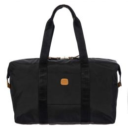 "x-Bag 18"" Folding Duffle by Brics (Color: Black)"