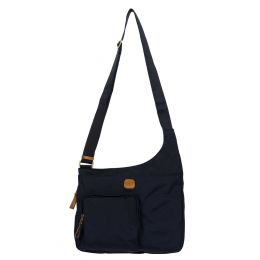 x-Bag Hipster Crossbody by Brics (Color: Navy)