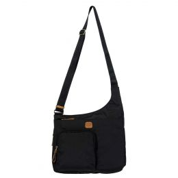 x-Bag Hipster Crossbody by Brics (Color: Black)