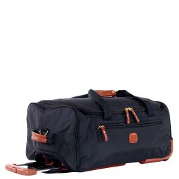 "X-Travel 21"" Rolling Duffle by Brics (Color: Navy)"