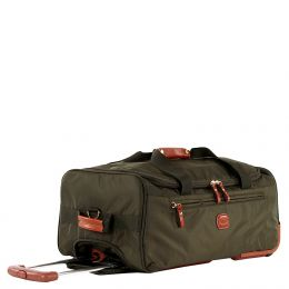 "X-Travel 21"" Rolling Duffle by Brics (Color: Olive)"