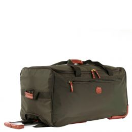 "X-Travel 28"" Rolling Duffle by Brics (Color: Olive)"