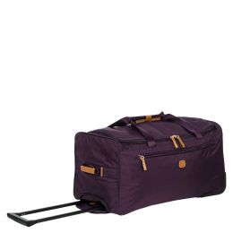 "X-Travel 28"" Rolling Duffle by Brics (Color: Violet)"