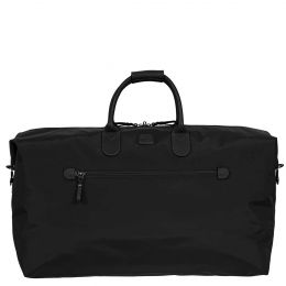 "X-Travel 22"" Deluxe Duffle by Brics (Color: Black /Black)"