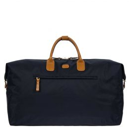 "X-Travel 22"" Deluxe Duffle by Brics (Color: Navy)"