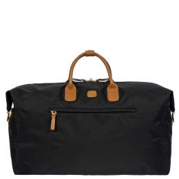 "X-Travel 22"" Deluxe Duffle by Brics (Color: Black)"