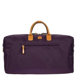 "X-Travel 22"" Deluxe Duffle by Brics (Color: Violet)"