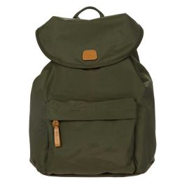 X-Travel City Backpack by Brics (Color: Olive)