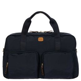 "X-Travel 18"" Boarding Duffle W/Pockets by Brics (Color: Navy)"