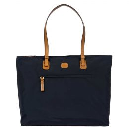 X-Travel Ladies Commuter Tote by Brics (Color: Navy)