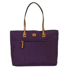 X-Travel Ladies' Commuter Tote by Brics (Color: Violet)