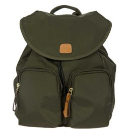 X-Travel City Backpack Piccolo by Brics (Color: Olive)