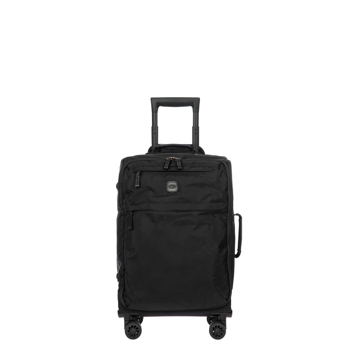"X-Travel 21"" Spinner W / Frame by Brics (Color: Black /Black)"