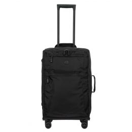"X-Travel 25"" Spinner W / Frame by Brics (Color: Black /Black)"