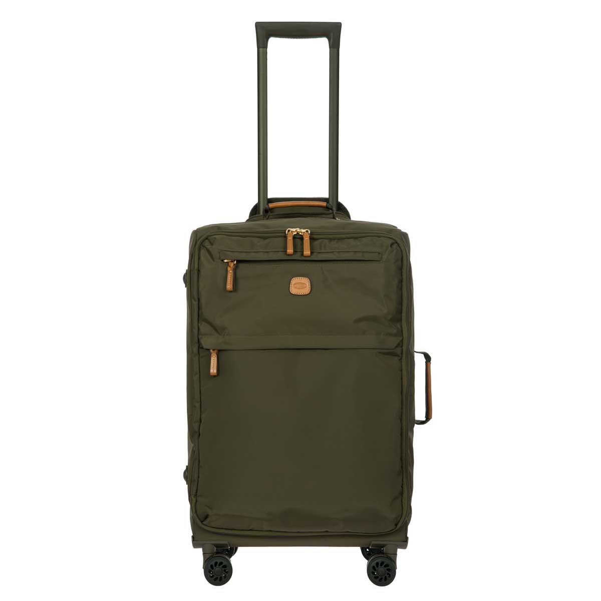 "X-Travel 25"" Spinner W / Frame by Brics (Color: Olive)"