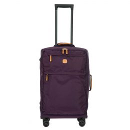 "X-Travel 25"" Spinner W / Frame by Brics (Color: Violet)"