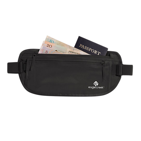 Silk Undercover™ Money Belt by Eagle Creek (Color: Black)