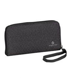 RFID Wristlet Wallet by Eagle Creek (Color: Black/Charcoal)
