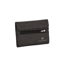 RFID International Tri-Fold Wallet by Eagle Creek (Color: Black/Charcoal)