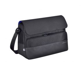 Gramercy - Large Shoulder Bag by Zero Halliburton (Color: Black)
