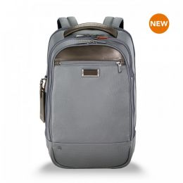 "@work Medium Backpack for 15.6"" laptops by Briggs & Riley (Color: Grey)"