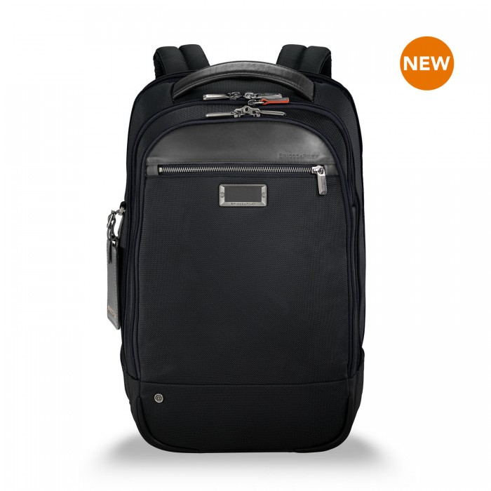 "@work Medium Backpack for 15.6"" laptops by Briggs & Riley (Color: Black)"