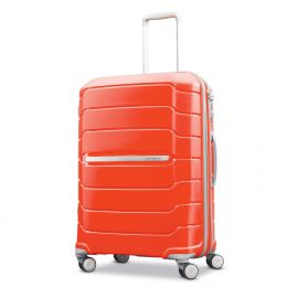"Samsonite Freeform 24"" Spinner (Color: Tangerine)"