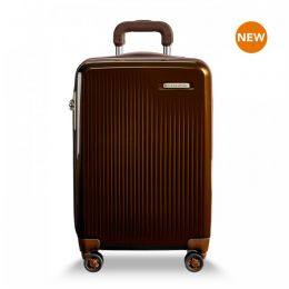 Sympatico Domestic Carry-On Expandable Spinner by Briggs & Riley (Color: Bronze)
