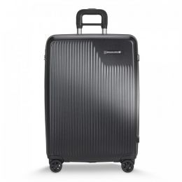 Sympatico Medium Expandable Spinner by Briggs & Riley (Color: Black)