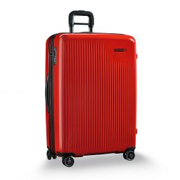 Sympatico Large Expandable Spinner by Briggs & Riley (Color: Fire)