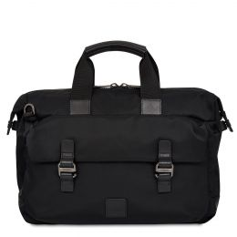 Tournay Breifcase 15'' by Knomo (Color: Black / Black Hardware)