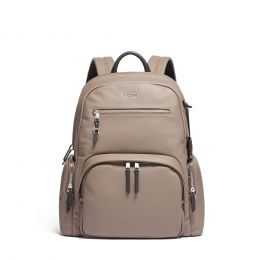 Voyageur Carson Backpack Leather by TUMI (Color: Gobi)