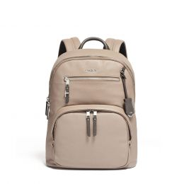 Voyageur Hagen Backpack Leather by TUMI (Color: Gobi)
