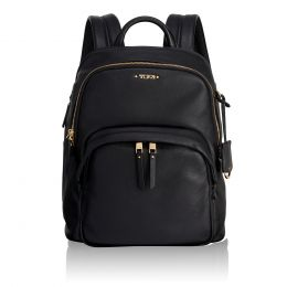 Voyageur Dori Backpack Leather by TUMI (Color: Black)