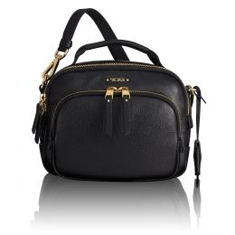 Voyageur Troy Crossbody Leather by TUMI (Color: Black)