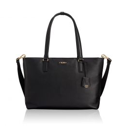 Voyageur Monika Tote Leather by TUMI (Color: Black)