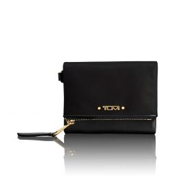 Voyageur SLG Flap Card Case by TUMI (Color: Black)