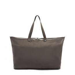 Voyageur JUST IN CASE® TOTE by TUMI (Color: Mink/Silver)