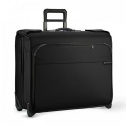 Baseline Deluxe Wheeled Garment Bag (2 wheel) by Briggs & Riley (Color: Black)