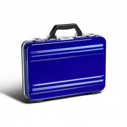 Classic Polycarbonate 2.0 Attaché - Small Classic Framed Polycarbonate Attaché by Zero Halliburton (Color: Blue)