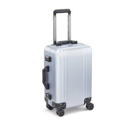 Classic Aluminum 2.0 - Carry-On Spinner Luggage by Zero Halliburton (Color: Polished Blue)