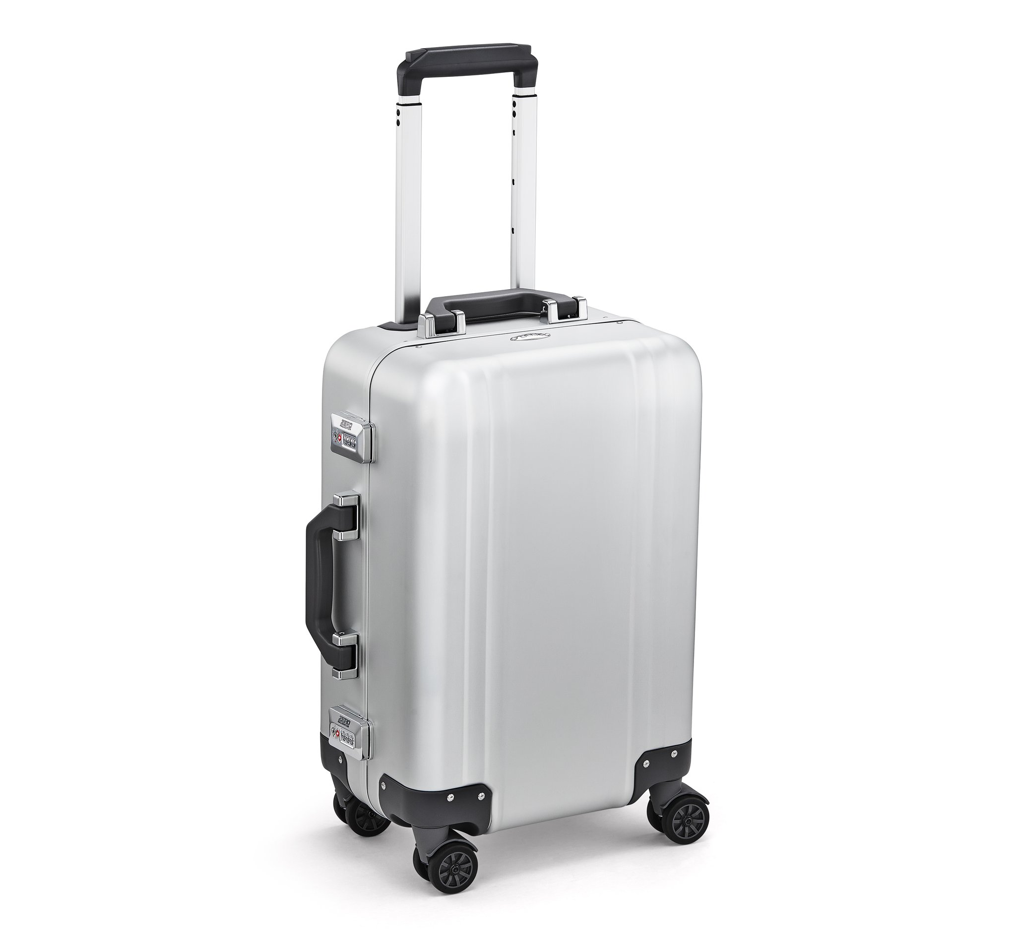Classic Aluminum 2.0 - Carry-On Spinner Luggage by Zero Halliburton (Color: Silver)